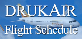 Druk Air Flight Schedule